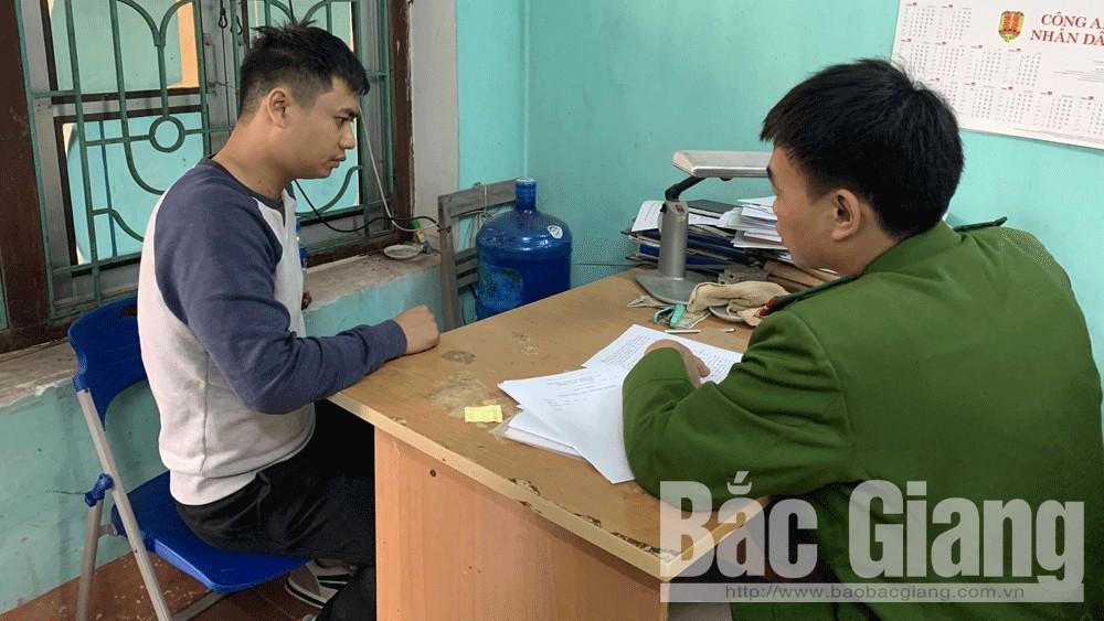 Công an Lạng Giang phát hiện, thu giữ 600 cây thuốc lá nhập lậu