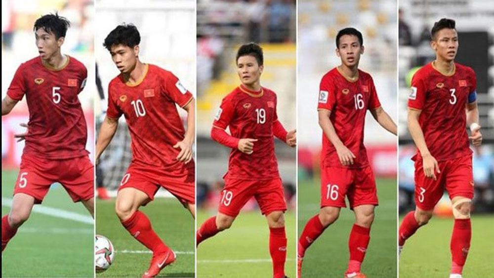 25 players, Golden Ball, best Vietnamese footballer,  best young male player, best young female player, foreign footballer.