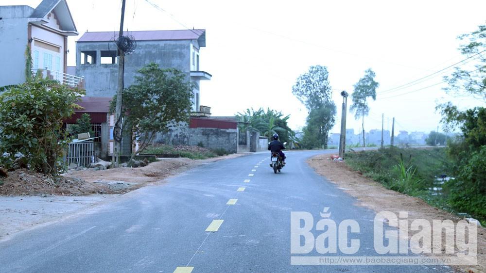 Yên Dũng đầu tư 14,9 tỷ đồng cải tạo, nâng cấp đường huyện ĐH.5