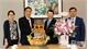 Đồng chí Lê Ánh Dương, Phó Chủ tịch UBND tỉnh Bắc Giang chúc Tết Đại sứ quán Hàn Quốc tại Việt Nam