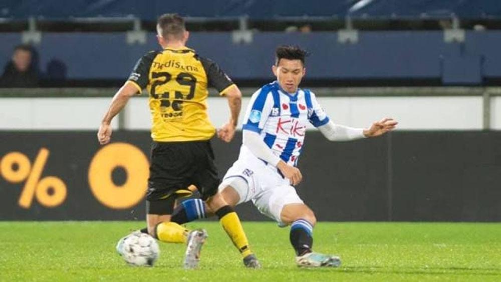 Doan Van Hau, Vietnamese footballer, Heerenveen, second round match,  Dutch Cup