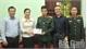 Phó Bí thư Thường trực Tỉnh ủy Lê Thị Thu Hồng thăm, tặng quà quân nhân hoàn cảnh khó khăn