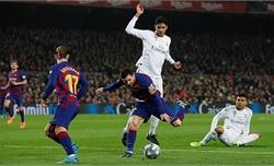 Real chia điểm với Barca