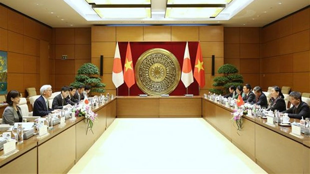 Vietnam, Japan enhance parliamentary ties