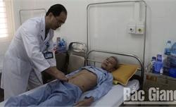 Bệnh viện Ung bướu Bắc Giang: Phẫu thuật thành công khối u hiếm gặp ở dạ dày