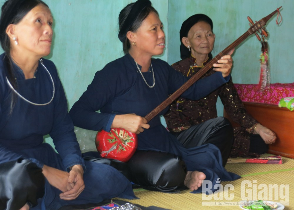 Then singing, Bac Giang province, cultural heritage,  UNESCO,  intangible cultural heritage of humanity, spiritual needs, religious rituals