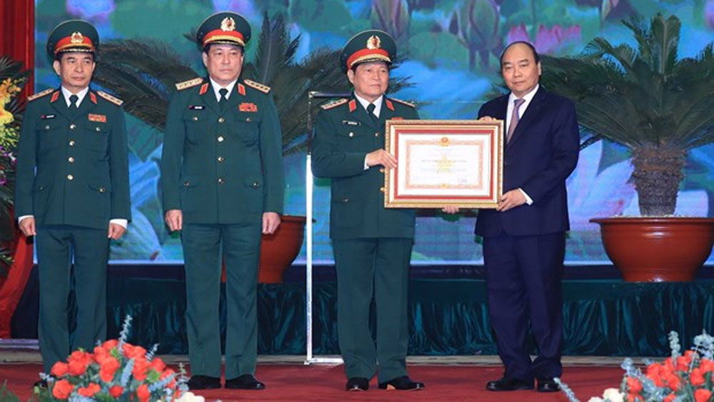 Grand ceremony, 75th anniversary, Vietnam People's Army, historical leaders, national heroes,  national development