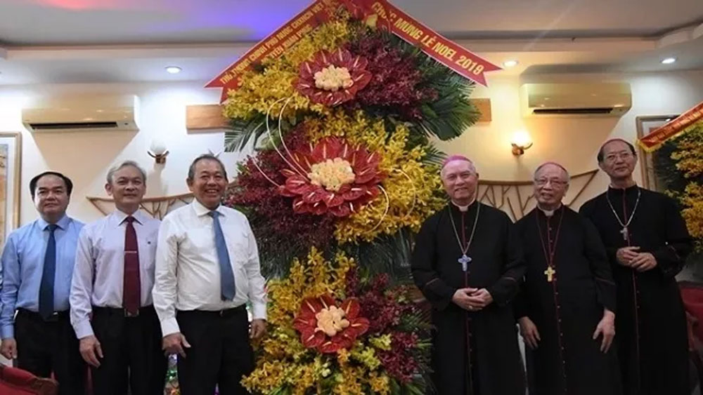 Leaders extends Christmas greetings to Catholics, Protestants