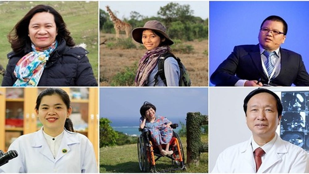 Six Vietnamese who make the world a better place