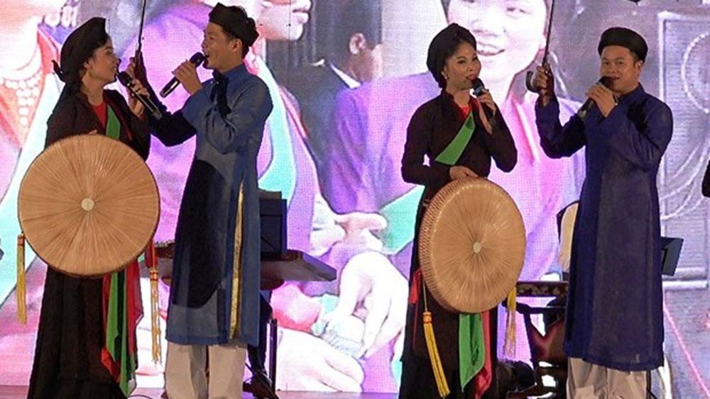 Bac Ninh province, Quan Ho folk songs, love duet singing, UNESCO, folk art, world's intangible cultural heritage, cultural activity