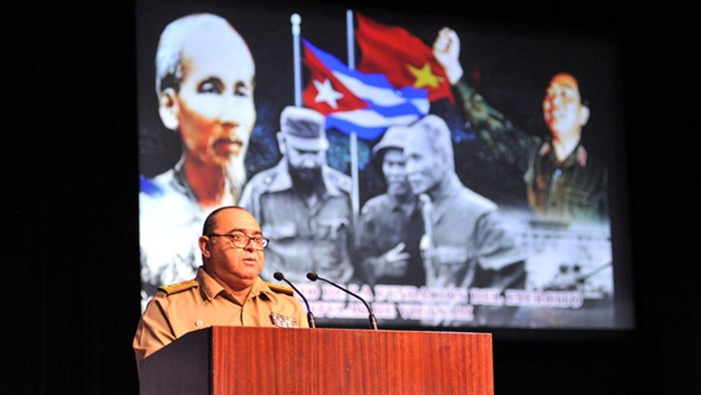 Cuba, heroic tradition, Vietnam People's Army, Revolutionary Armed Forces, 75th founding anniversary, high technology