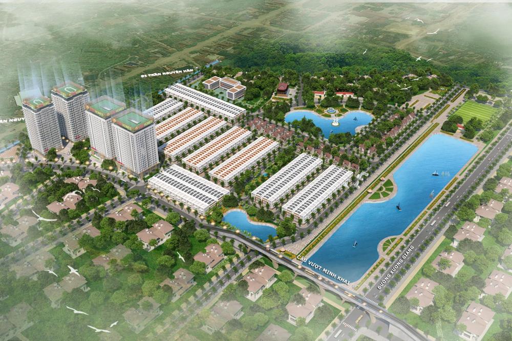 Mở bán chính thức căn hộ tòa Lotus 2, Chung cư Green City Bắc Giang