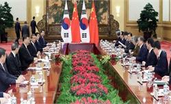 Lãnh đạo Hàn-Trung thảo luận về Triều Tiên