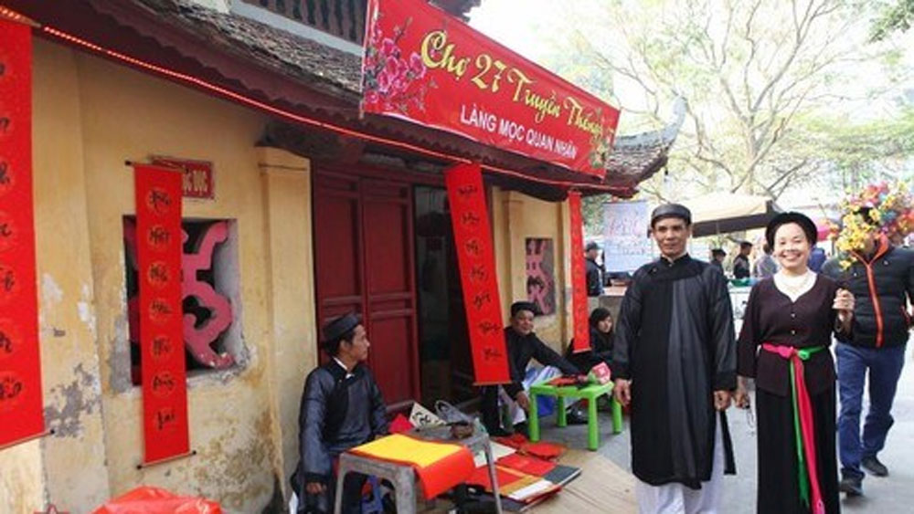 Traditional Tet space to be re-enacted in Hanoi's Old Quarter