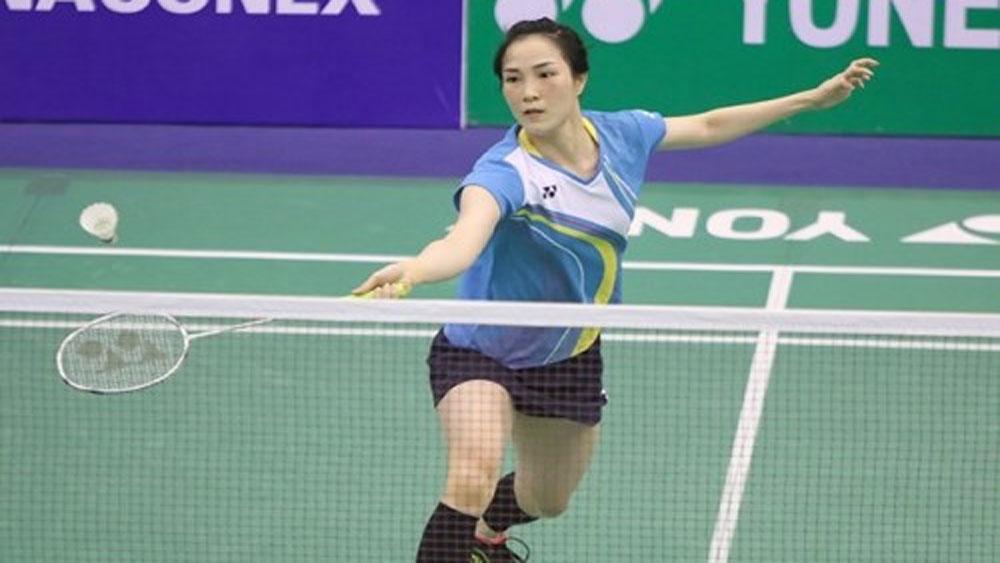 Badminton player, Vu Thi Trang, Graphics Challenge title, Bac Giang province, Bac Giang born player, women's singles title