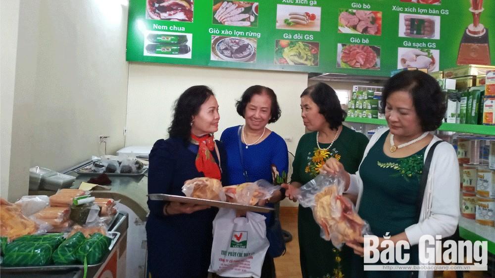 Khai trương, siêu thị, gà đồi, Yên Thế, Bắc Giang