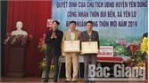 Yên Dũng: Thôn Bùi Bến, xã Yên Lư được công nhận đạt chuẩn nông thôn mới