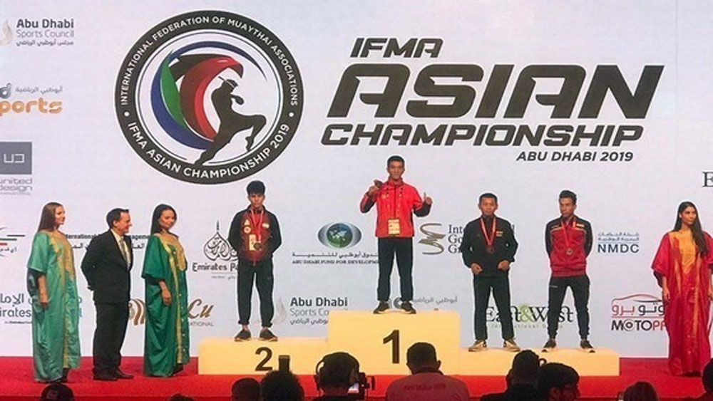 Vietnamese fighter, Asian muay Thai, gold medal, final round, international tournament, world's best fighters, annual amateur competition