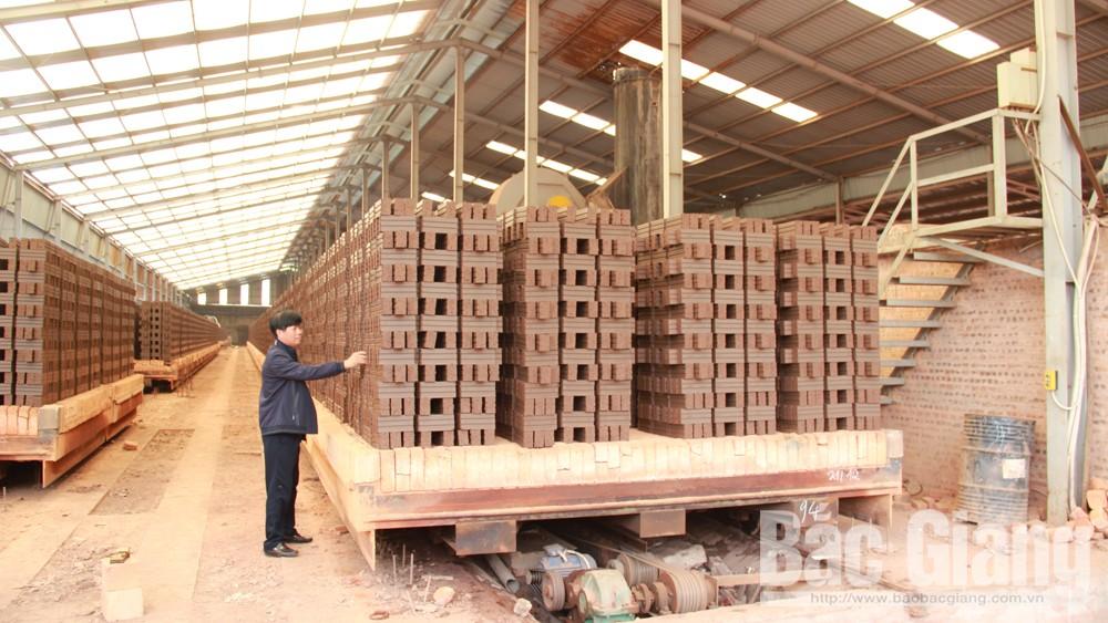 Công ty, cổ phần, Gốm Sơn Động, sản xuất, hơn 20 triệu, viên gạch