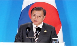 Tổng thống Hàn Quốc kêu gọi thế giới cùng hành động thúc đẩy đàm phán hạt nhân với Triều Tiên