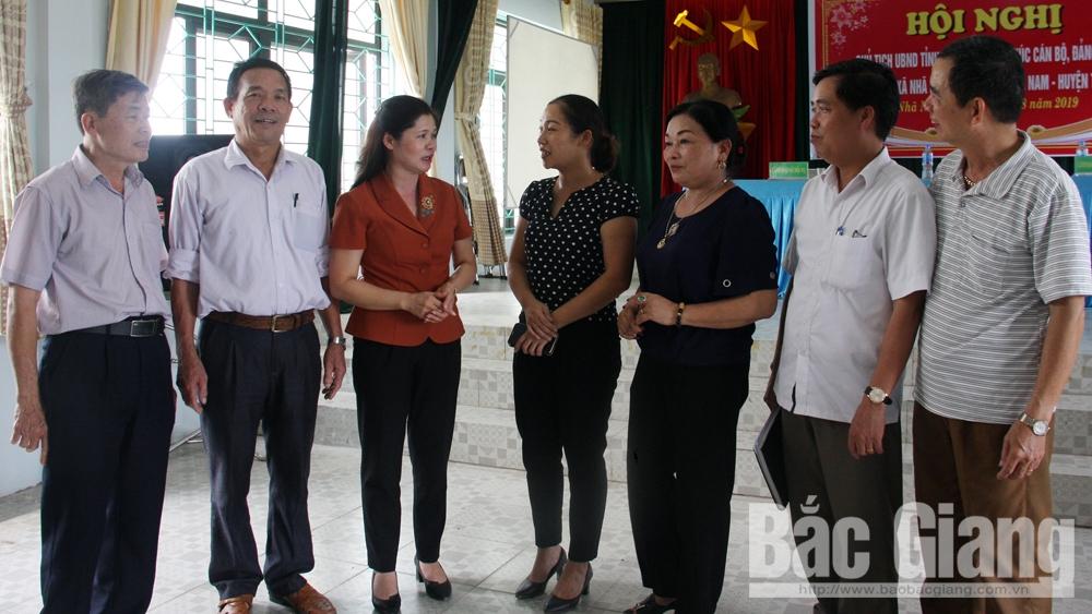 Tân Yên thực hiện nhiệm vụ trọng tâm năm 2019: Dấu ấn người đứng đầu