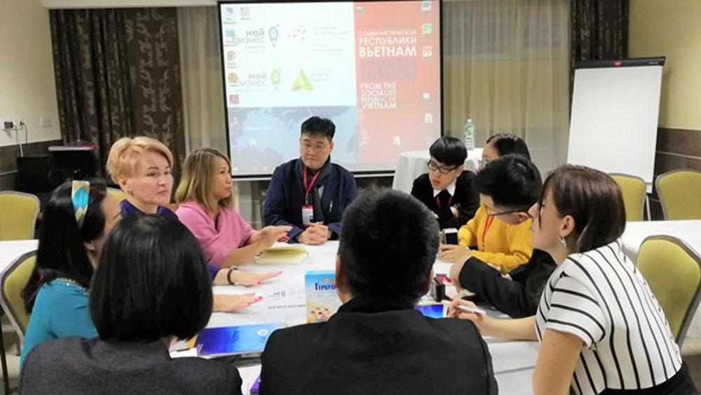 Vietnamese businesses, trade promotion event, Russia, Russia-Vietnam friendship association,  export promotion centre, Russian partners