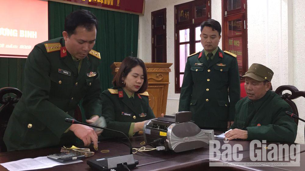 Bắc Giang: Chi trả truy lĩnh trợ cấp cho 21 thương binh