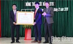 Xã Lan Giới, huyện Tân Yên được công nhận đạt chuẩn nông thôn mới