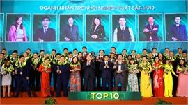 Tuyên dương 81 doanh nhân trẻ tiêu biểu, khởi nghiệp xuất sắc 2019