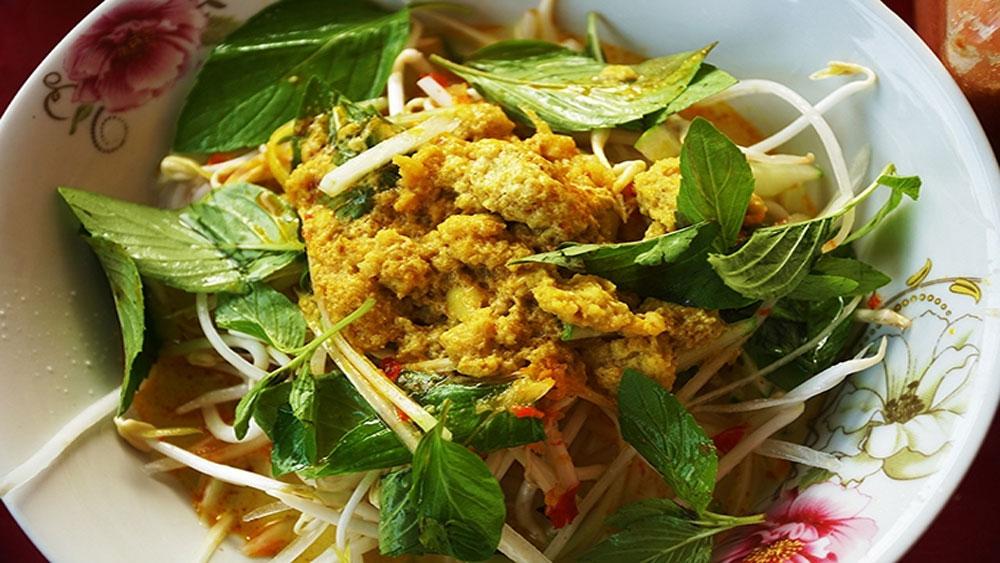 Snakehead fish noodle soup