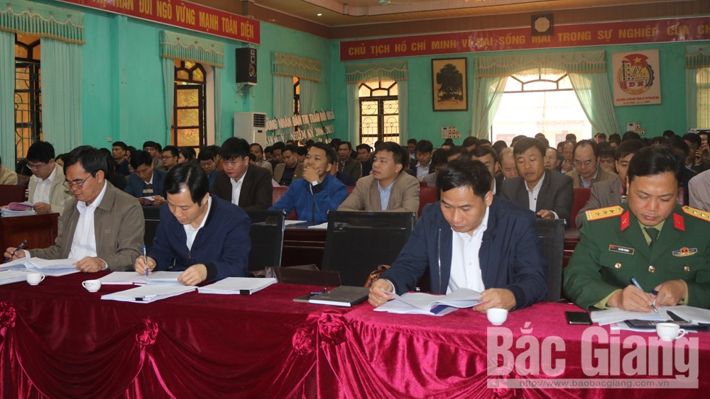 Lục Nam: Triển khai công tác chuẩn bị đại hội đảng các cấp