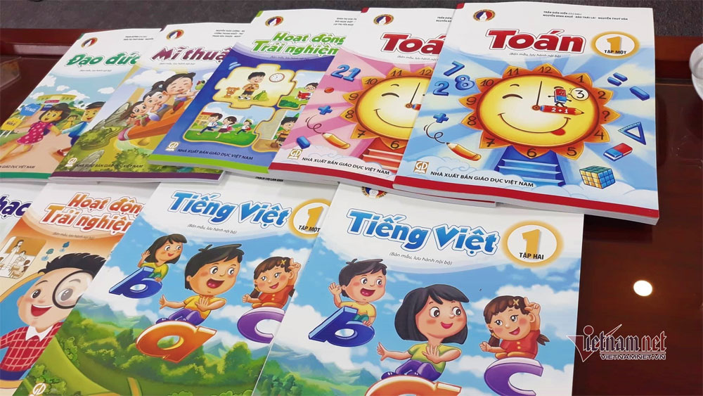 Bộ Giáo dục yêu cầu công bố giá Sách giáo khoa lớp 1 mới trước 15-2-2020