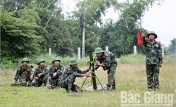 Huấn luyện giỏi, bảo vệ vững chắc mục tiêu