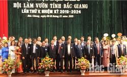 Ông Nguyễn Văn Bái tái cử chức Chủ tịch Hội Làm vườn tỉnh nhiệm kỳ 2019-2024