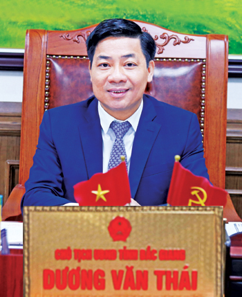 Provincial leader, Duong Van Thai, Seizing opportunities, new strength, Bac Giang province, sustainable development, comprehensive and outstanding results