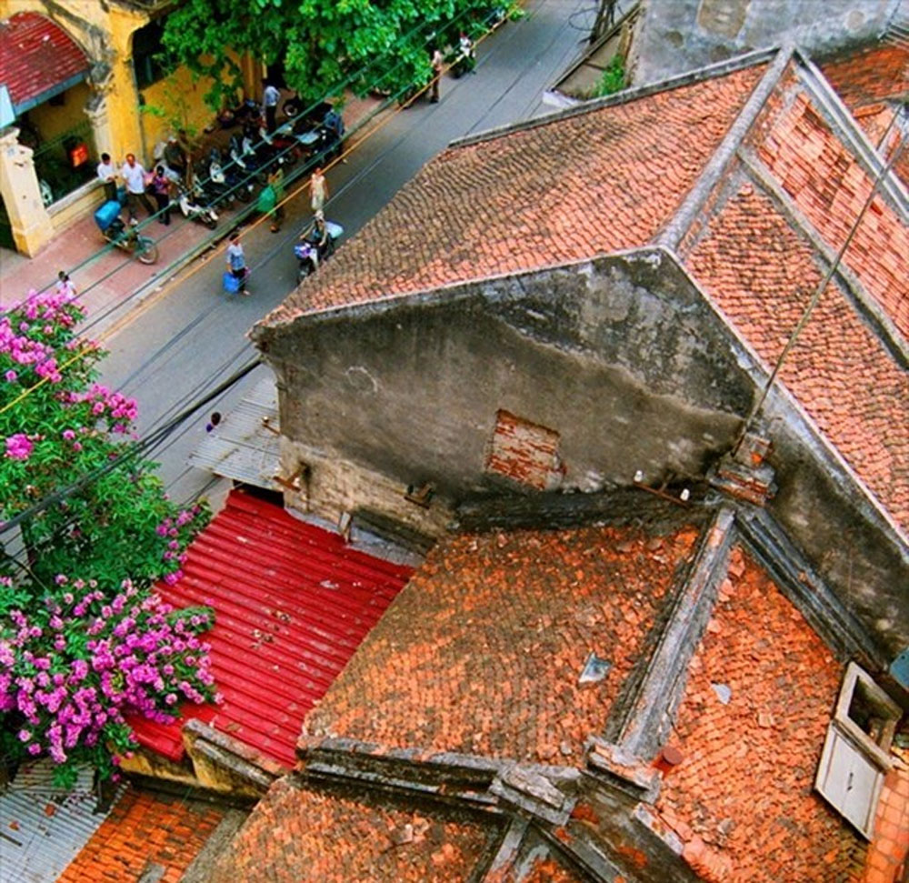 Hanoi charming, unique architecture, cultural and historical essences, oriental and French-style architecture, ancient and modern