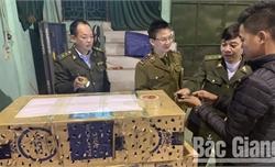 Bắc Giang: Thu giữ 450 kg sản phẩm động vật không rõ nguồn gốc