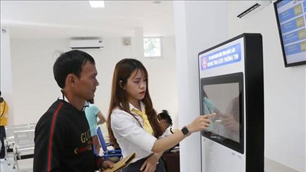 Public administrative services centre, Dak Lak province, working ability, service spirit, best possible services