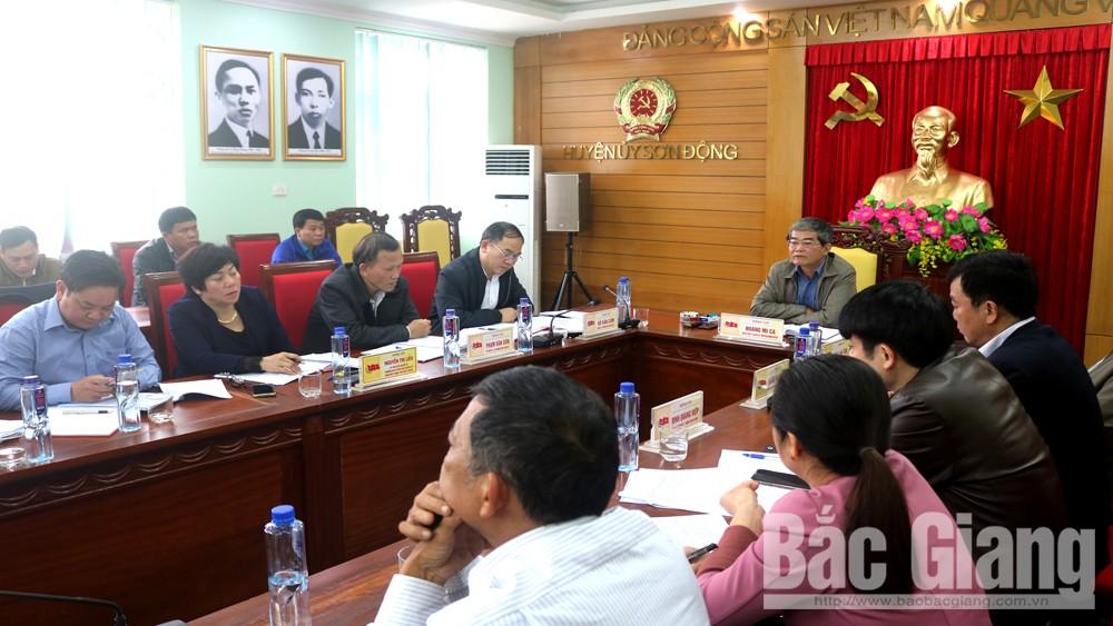 Sơn Động: Công bố nghị quyết thành lập 6 đơn vị hành chính mới