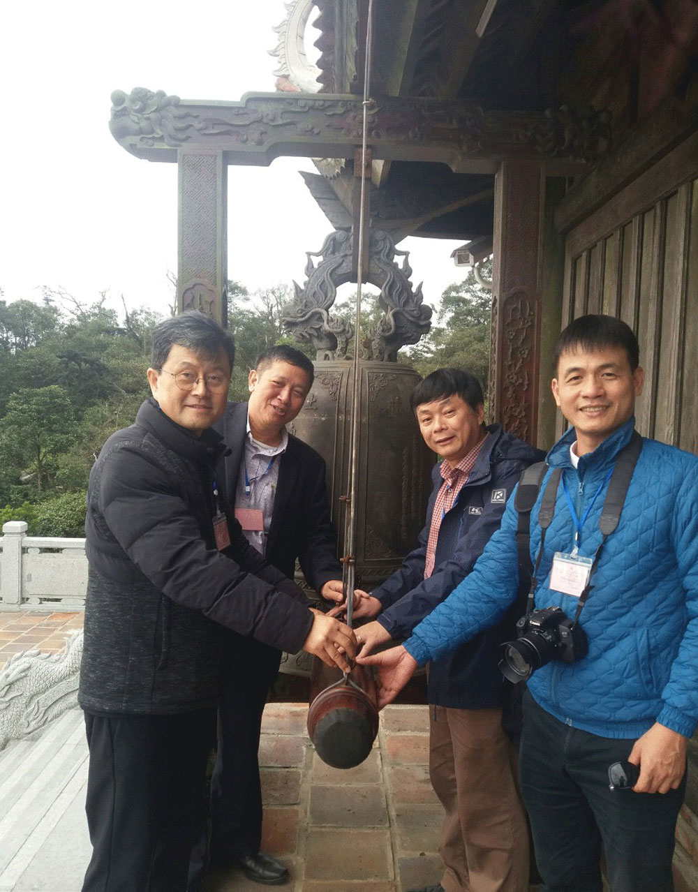 Thousands of visitors, Tay Yen Tu, Spiritual – Ecotourism Complex, Rose Garden, first day of New Year, Bac Giang province
