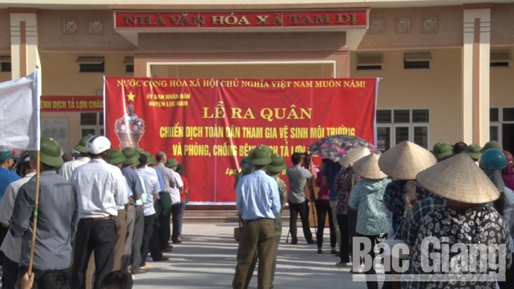 Lục Nam, 2.300 hộ chăn nuôi, bị thiệt hại do dịch tả lợn Châu Phi, được hỗ trợ kinh phí, Tây Yên Tử