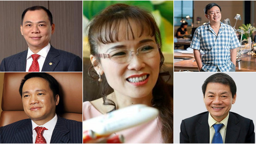 Five Vietnamese billionaires amass assets worth $14.4 billion: Forbes