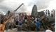 Campuchia: Sập công trình đang thi công, hàng chục người bị vùi lấp