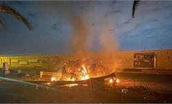 Vụ sân bay Baghdad (Iraq) bị không kích: Tổng thống Iran cảnh báo Mỹ phải trả giá