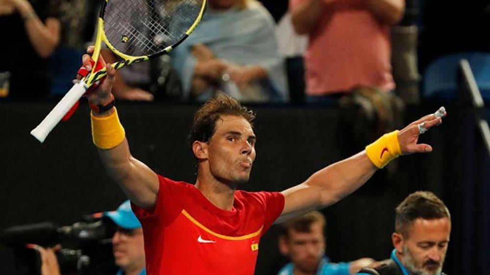 Nadal thắng trận mở màn ATP Cup 2020
