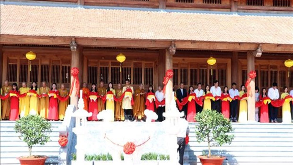 Truc Lam Zen Monastery inaugurated in Soc Trang province