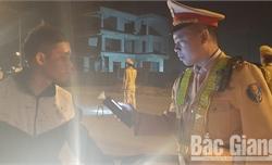 Bắc Giang: Mạnh tay xử lý vi phạm nồng độ cồn