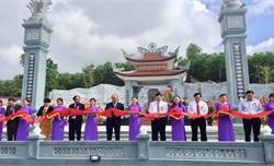 Thủ tướng Nguyễn Xuân Phúc dự Lễ khánh thành Đền thờ Liệt sĩ tại Quảng Nam