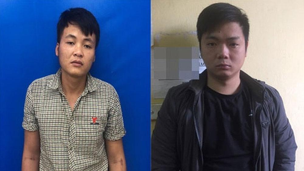 Vụ trả lương cho công nhân bằng ma tuý, Phát ma túy, 2 lần mỗi ngày, đối tượng Lê Văn Anh , Đặng Quang Huy
