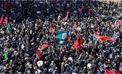 35 người thiệt mạng trong vụ giẫm đạp tại đám tang Tướng Qassem Soleimani ở Iran